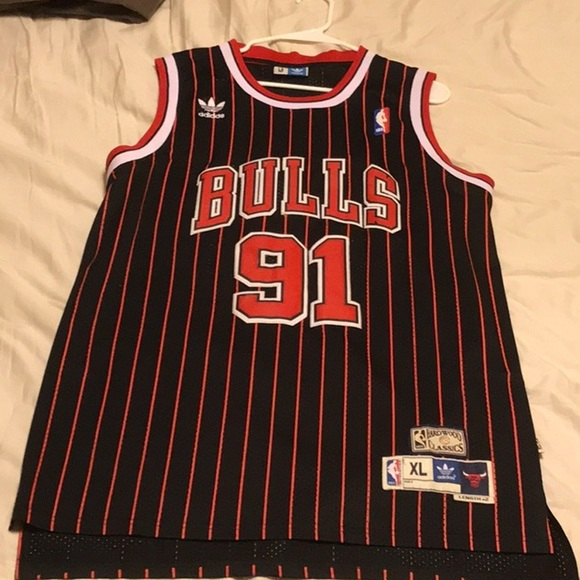 adidas Other - Xl Chicago bulls adidas nba retro jersey Rodman bc7ff92a4
